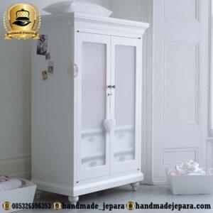 lemari bayi duco putih