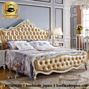 tempat tidur mewah french