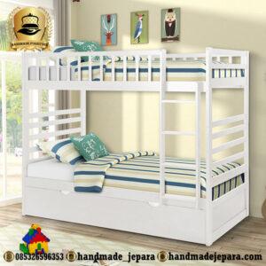 tempat tidur tingkat sorong