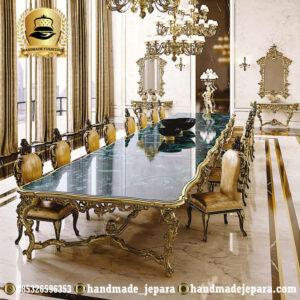 Meja Makan Villa Mewah