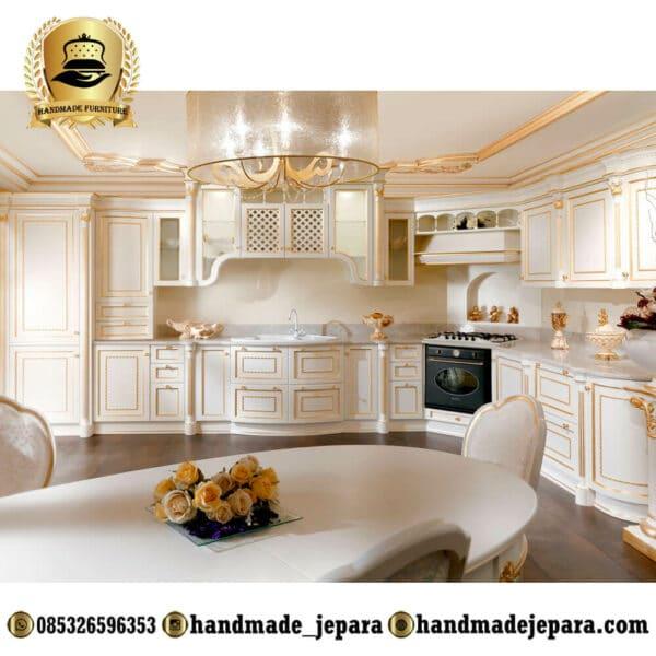 Kitchen Set Mewah Klasik