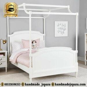 Tempat Tidur Anak Cantik Putih