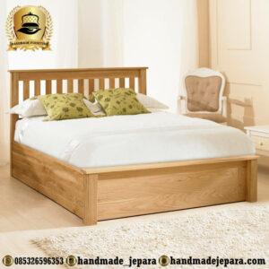Tempat Tidur Minimalis Jati Terbaru